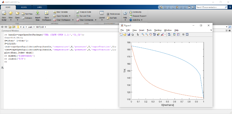 CAPE-OPEN Thermo Import for Matlab